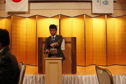 1月例会「新年祝賀会ならびにシニアクラブ総会」